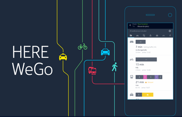 HERE WeGo – City Navigation