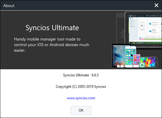 Anvsoft SynciOS Professional / Ultimate 6.6.5