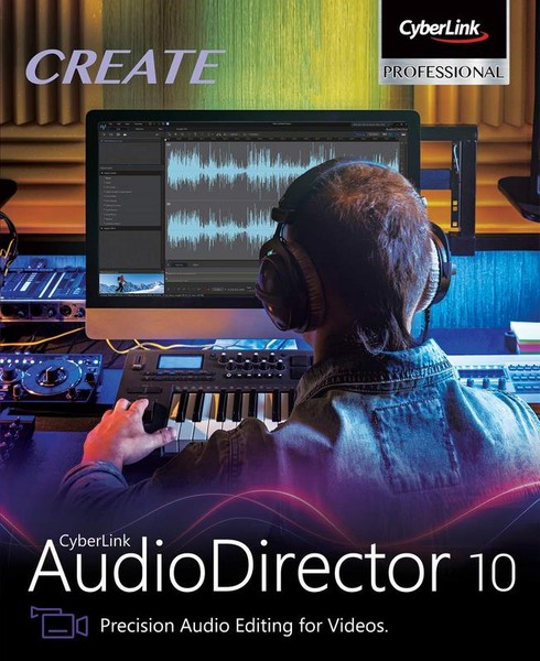CyberLink AudioDirector Ultra 10