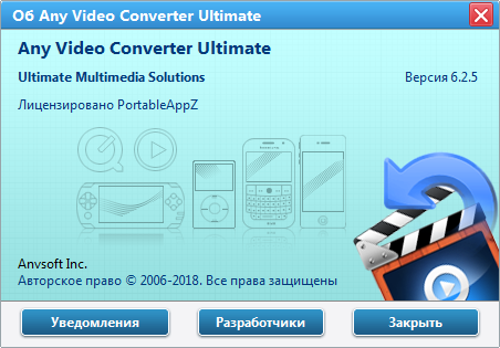 Any Video Converter Ultimate 6.2.5 + Portable