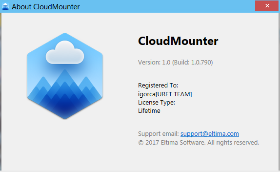 Eltima CloudMounter 1.0.790