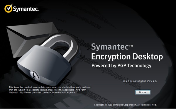 Symantec Encryption Desktop Professional 10.4.2