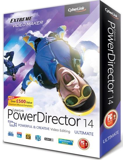 Скачать Cyberlink Powerdirector 14 Rus