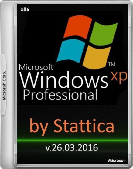 Windows XP Professional SP3 by Stattica