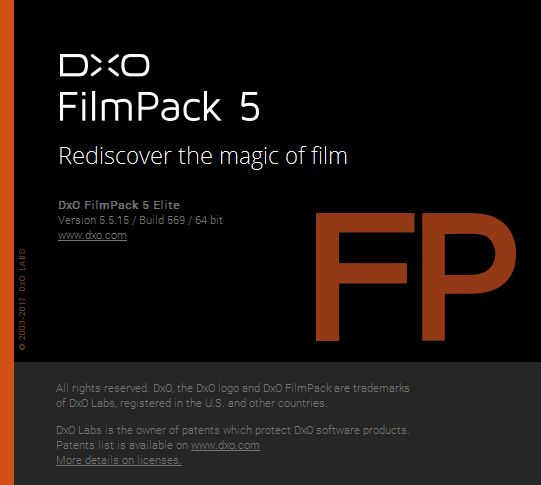 DxO FilmPack Elite 5.5.15 Build 569