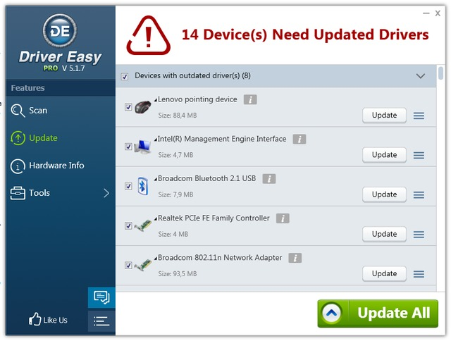 Driver Easy Professional 5.1.7.31793 + Portable