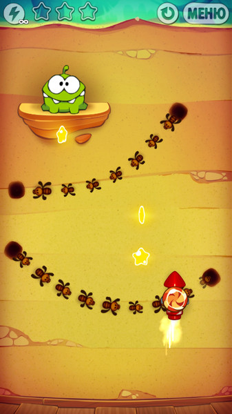 Cut the Rope. Experiments3
