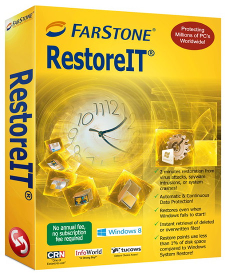 FarStone RestoreIT 8.1 Build 20151205 Full Version+Keygen