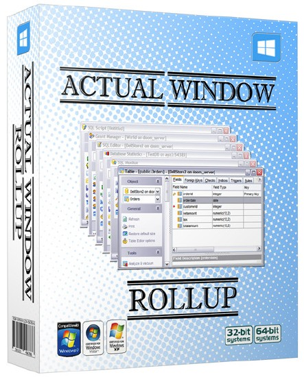 Actual Window Rollup 8.1.1