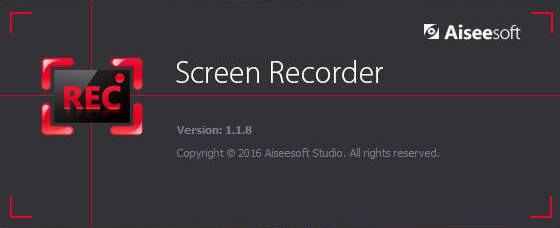 Aiseesoft Screen Recorder 1.1.8