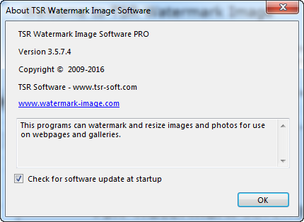 TSR Watermark Image Software Pro 3