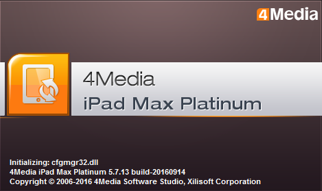 4Media iPad Max Platinum 5.7.13