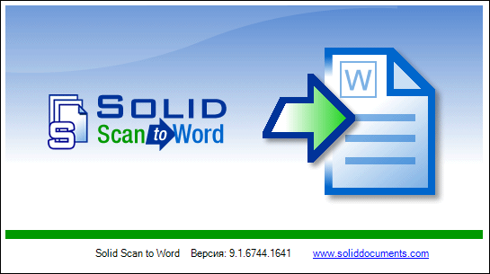 Solid Scan to Word 9.1.6744.1641