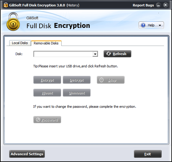 GiliSoft Full Disk Encryption 3.8.0