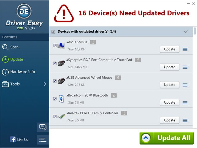 DriverEasy Professional 5.0.7.3966 + Portable