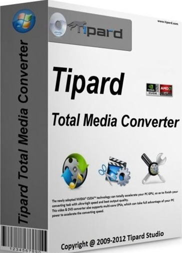 Tipard Total Media Converter 8.0.8 + Portable