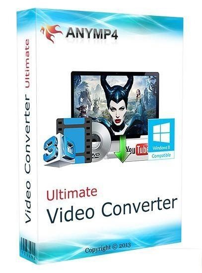 AnyMP4 Video Converter Ultimate 7.0.26 + Portable