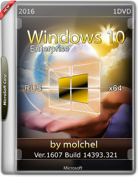 Windows 10 Enterprise x64 v.1607.14393.321 by molchel
