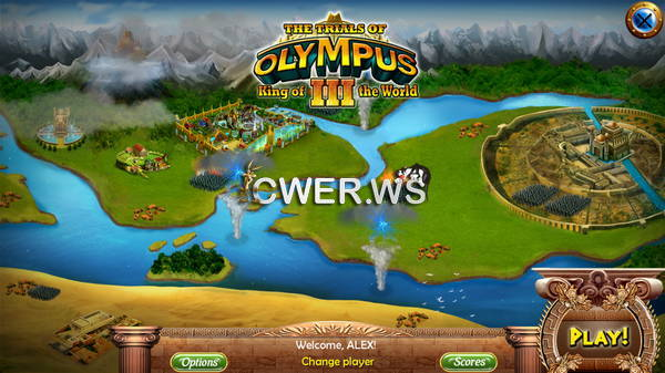 скриншот игры The Trials of Olympus III: King of the World