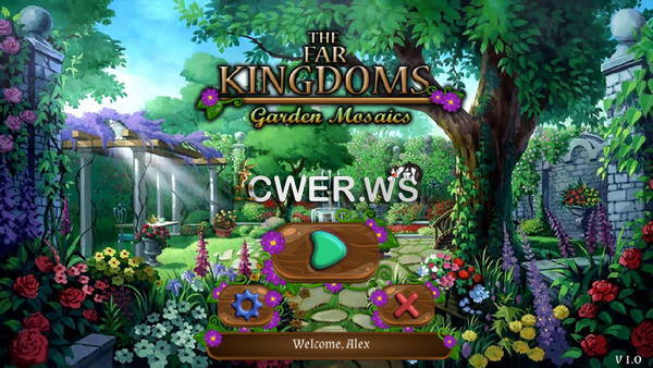 скриншот игры The Far Kingdoms 8: Garden Mosaics