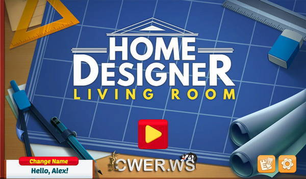 скриншот игры Home Designer: Living Room