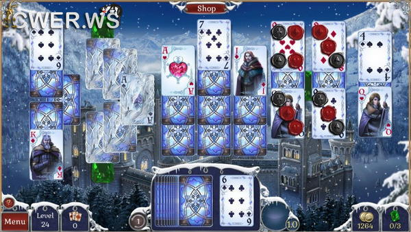 скриншот игры Jewel Match Solitaire: Winterscapes