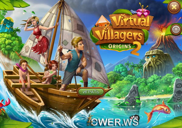 скриншот игры Virtual Villagers Origins 2