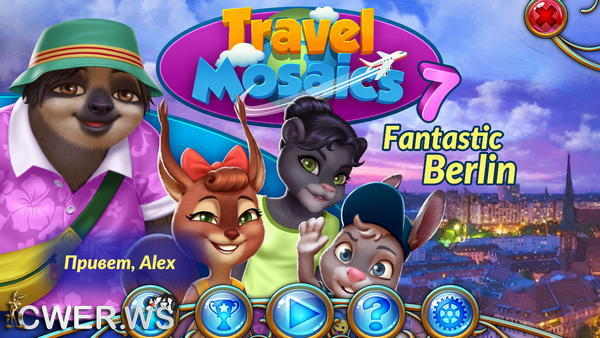 скриншот игры Travel Mosaics 7: Fantastic Berlin