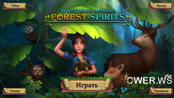 скриншот игры Adventure Mosaics: Forest Spirits