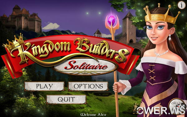скриншот игры Kingdom Builders: Solitaire