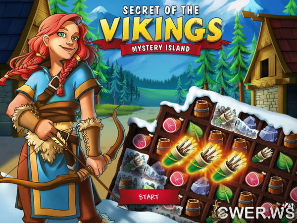 скриншот игры Secret of the Vikings: Mystery Island
