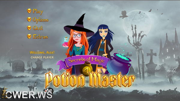скриншот игры Secrets of Magic 4: Potion Master