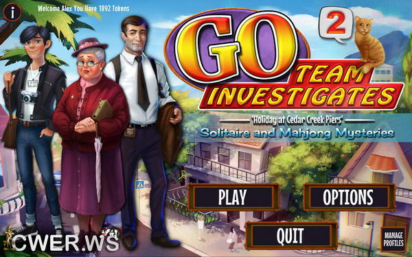 скриншот игры GO Team Investigates 2: Solitaire and Mahjong Mysteries