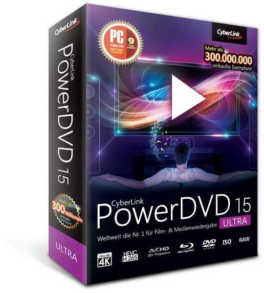 CyberLink PowerDVD Ultra 15.0.2211.58 RePack by qazwsxe
