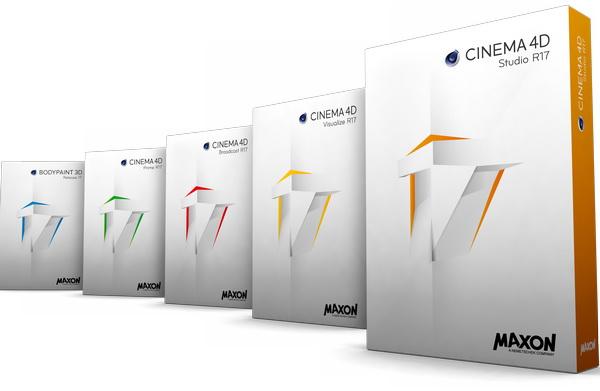 Maxon CINEMA 4D StudioVisualizeBroadcastPrime.4D R17.053 Retail + RIP