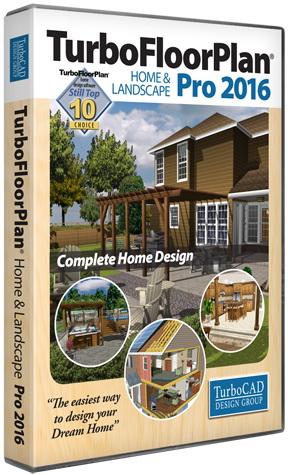 TurboFloorPlan 3D Home & Landscape Pro 2016 18.0.1.1001
