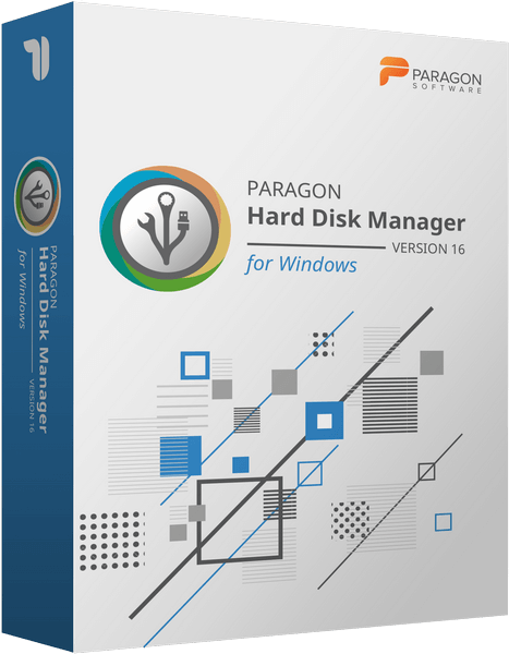 Paragon Hard Disk Manager 16