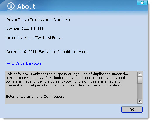 DriverEasy Professional 3.11.3.34316