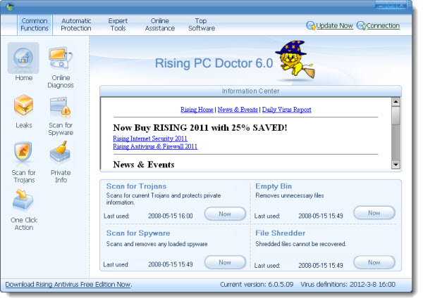 Rising PC Doctor 6.0.5.09