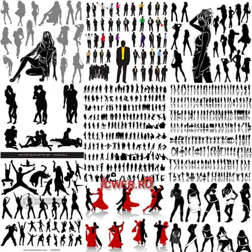 Silhouettes Vector Collection