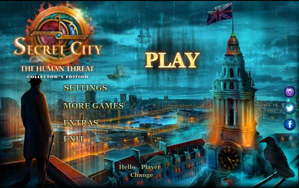 Secret City 3: The Human Threat Collectors Edition