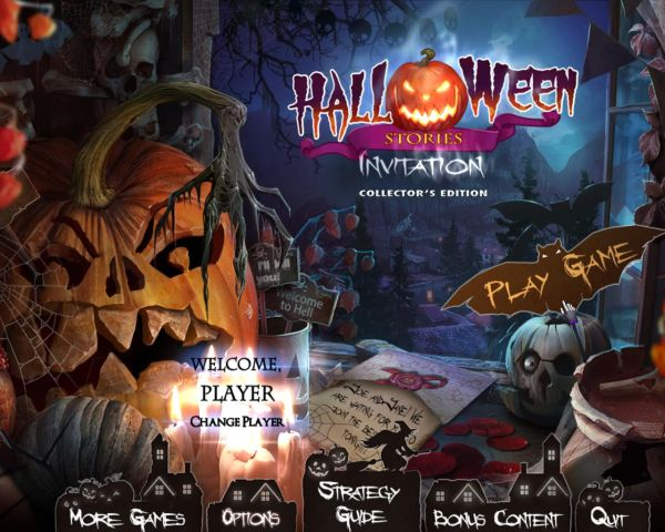 Halloween Stories: Invitation Collectors Edition