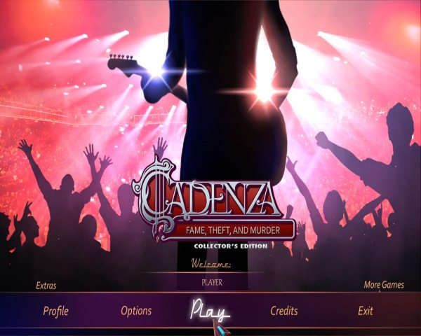 Cadenza 4: Fame, Theft, And Murder Collectors Edition