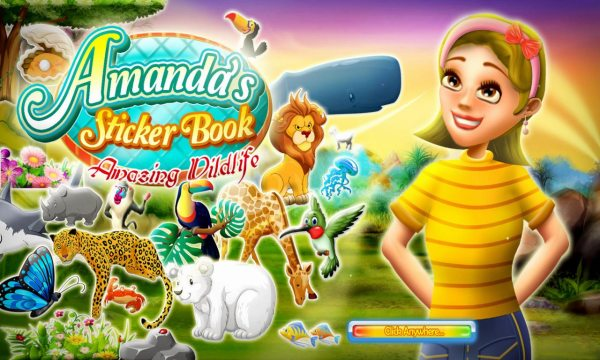 Amandas Sticker Book 2: Amazing Wildlife