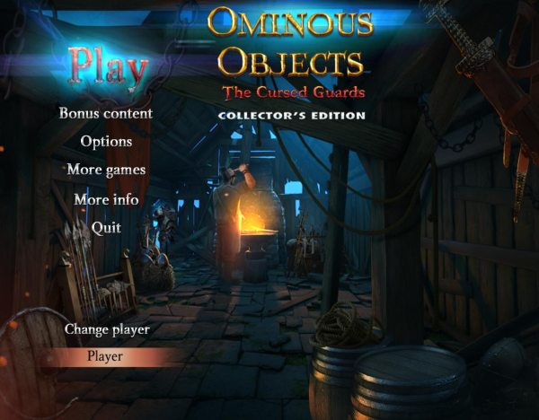 Ominous Objects 5: The Cursed Guards Collectors Edition