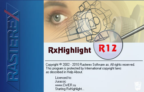 Rasterex RxHighlight v12.0.0.354