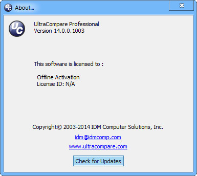 UltraCompare Professional 14.0.0.1001