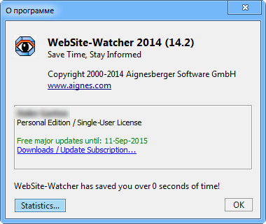 WebSite-Watcher 2014 v14.2