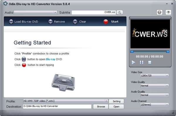 Odin Blu-ray to HD Converter 9.8.4