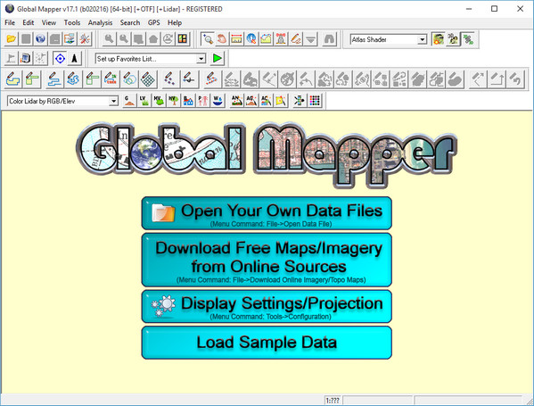 Global Mapper 17.1.0